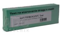 BIOGEMA MULTIDROGOVÝ TEST JEDNOKROKOVY drogový test na morfín, marihuanu, pervitín, extázu a benzodiazepíny (v moči) 1x1 ks