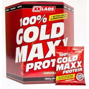 GOLD MAXX 100% proteín vanilka 1800 g