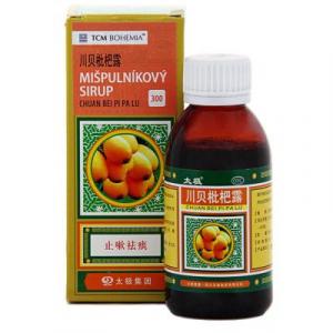 TCM MIŠPUĽOVÝ sirup (Chuan Bei Pi Pa Lu 300) 120 ml