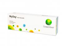 COOPERVISION MyDay Daily Disposable jednodňové šošovky 30 kusov, Počet dioptrií: -9,5, Priemer: 14,2, Zakrivenie: 8,4, Počet ks: 30 ks
