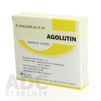 AGOLUTIN sol inj (30mg/ml) 60 mg 5x2 ml