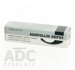 AGOFOLLIN DEPOT sus inj  5mg/ml (amp. skl.) 10 mg 1x2 ml
