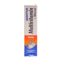 NATURPRODUKT Additiva multivitamín + minerál orange 20 šumivých tabliet