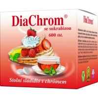 AGROBAC DiaChrom so sukralózou 600 tabliet