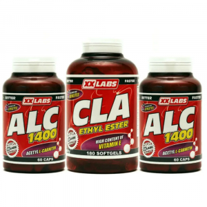 ALC 1400 60tbl. + ALC 1400 60cps. + CLA Ethyl Ester 60tbl. ZDARMA