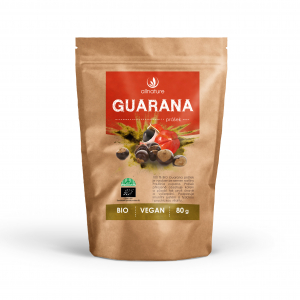 ALLNATURE Guarana prášok Bio 80 g