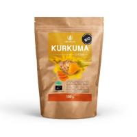 ALLNATURE Kurkuma prášok BIO 100 g