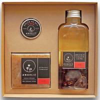 ANGELIC Sprchové olejové Cuvée Ruža darčeková krabička