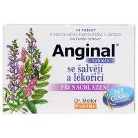 Dr Müller Anginal šalvia, sladké drievko 16 tabliet
