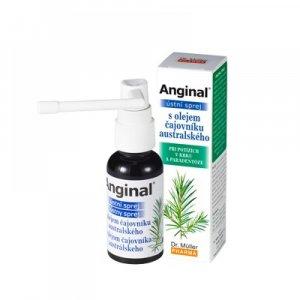 DR. MÜLLER Anginal ústny sprej s olejom čajovníka austrálskeho 30 ml
