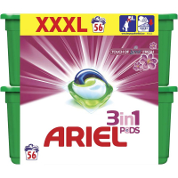 ARIEL Touch of Lenor Kapsule na pranie 3v1 56 dávok