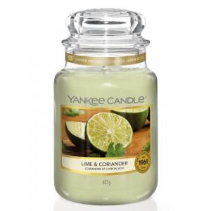 YANKEE CANDLE Classic veľká Sviečka Lime & Coriander 623 g