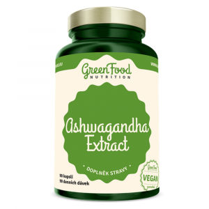 GREENFOOD NUTRITION Ashwagandha extract 90 kapsúl