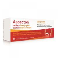 APOTEX Aspecton tablety na kašeľ čierne ríbezle 60 ks