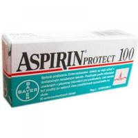 ASPIRIN PROTECT 100 enterosolventné tablety 20 kusov