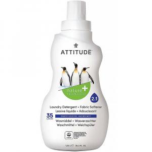 ATTITUDE Prací gél a aviváž 2v1 s vôňou Mountain Essentials 35 dávok 1050 ml