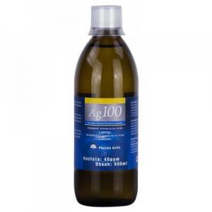 PHARMA ACTIV Koloidné striebro Ag 100 40 ppm 500 ml