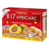 TEREZIA B17 Apricarc s marhuľovým olejom 50+10 kapslí ZADARMO