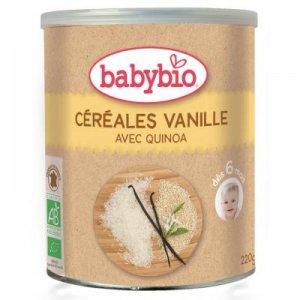 BABYBIO nemliečna rýžovoquinoová kaša s vanilkou 220 g
