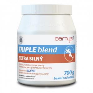 BARNY´S Triple Blend Extra Silný so sladidlom 700 g