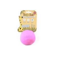 BECO Ball EKO loptička pre psov - ružová XL