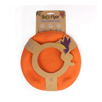 BECO Flyer EKO lietajúci tanier pre psov oranžový