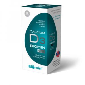 BIOMIN Calcium neo s vitamínom D 90 kapsúl