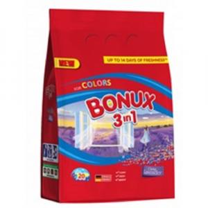 BONUX Color Lavender prací prášok, 20 praní, 1,5 kg