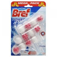 BREF Power Aktiv WC blok Chlorine 3x50 g
