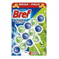 BREF Power Aktiv WC blok Pine 3x50 g
