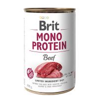 Brit MONO PROTEIN Beef konzerva pre psov 400 g