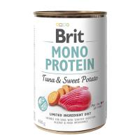 Brit MONO PROTEIN Tuna & Sweet Potato konzerva pre psov 400 g