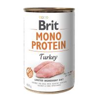 Brit MONO PROTEIN Turkey konzerva pre psov 400 g