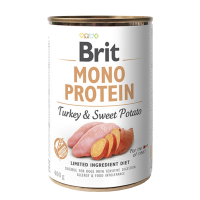 Brit MONO PROTEIN Turkey & Sweet Potato konzerva pre psov 400 g
