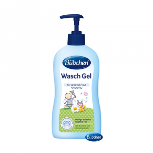 BÜBCHEN Baby umývací gél s dávkovačom 400 ml