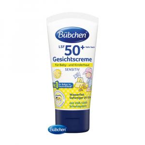 BÜBCHEN Opaľovací krém na tvár OF 50+ Sensitive 50 ml