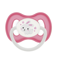 CANPOL BABIES Cumlík kaučukový čerešnička BUNNY&COMPANY 0-6m ružový