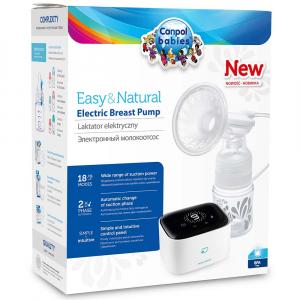 CANPOL BABIES Elektronická odsávačka materského mlieka EASY NATURAL