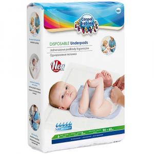 CANPOL BABIES Jednorazové hygienické podložky 10 ks