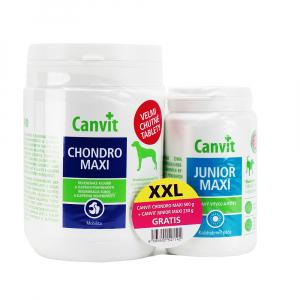 CANVIT Chondro Maxi 500 g + CANVIT Junior Maxi 230 g
