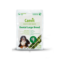 Canvit Snacks Dental Large Breed Duck 250 g