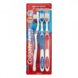 COLGATE zubná kefka Extra Clean 2 + 1 zdarma