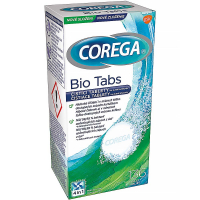 COREGA Tabs Bio Formel čistiace tablety 136 ks