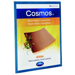COSMOS Hrejivá náplasť s kapsaicínom jemná 12,5 x 15 cm 1 kus