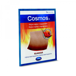 COSMOS Hrejivá náplasť s kapsaicínom klasická 12,5 x 15 cm