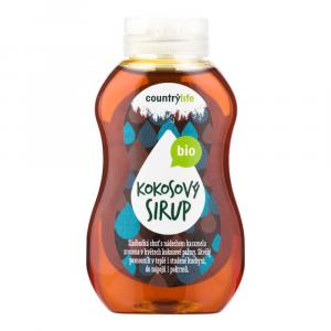 COUNTRY LIFE Bio Sirup kokosový 250 ml
