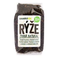 COUNTRY LIFE Ryža čierna natural 500 g BIO