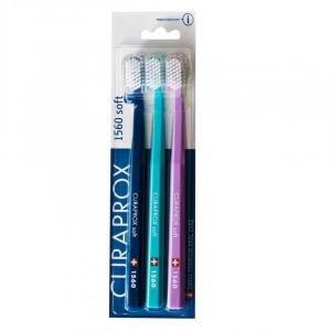 CURAPROX 1560 Soft zubné kefky 3 kusy
