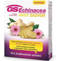 DÁREK GS Echinacea Akut zázvor 15 tablet