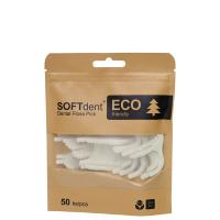 DÁREK SOFTDENT ECO Dentální párátka s nití 50 ks
